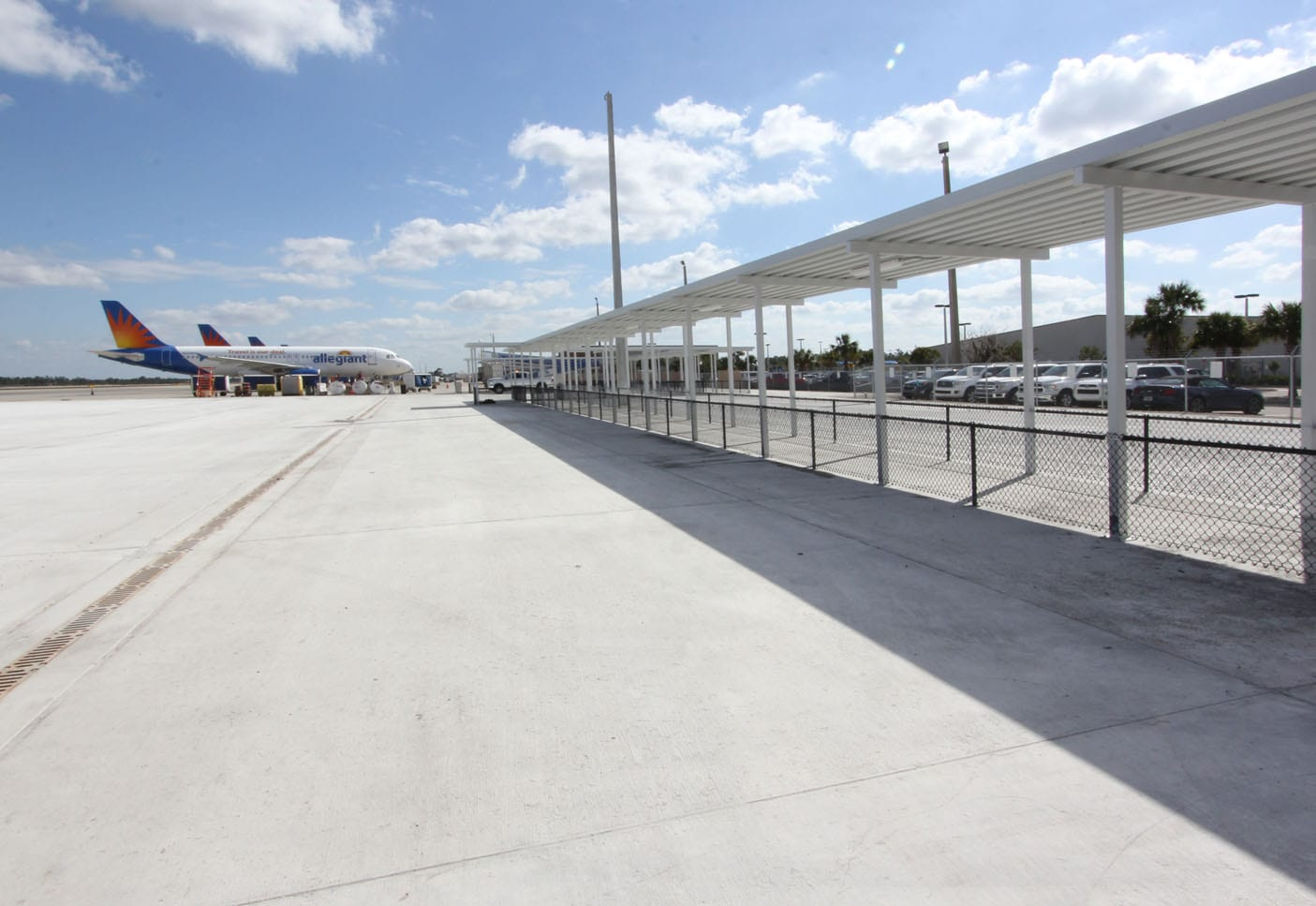 Punta Gorda Airport Apron Expansion Wright Construction