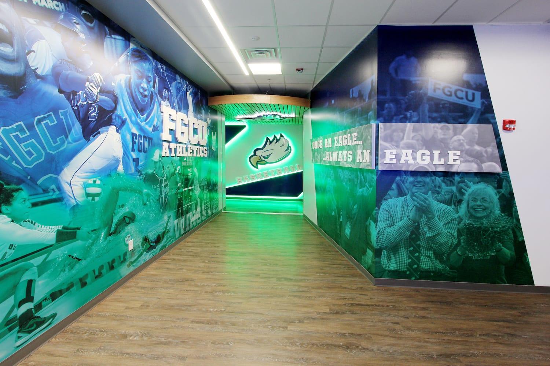 logo wall